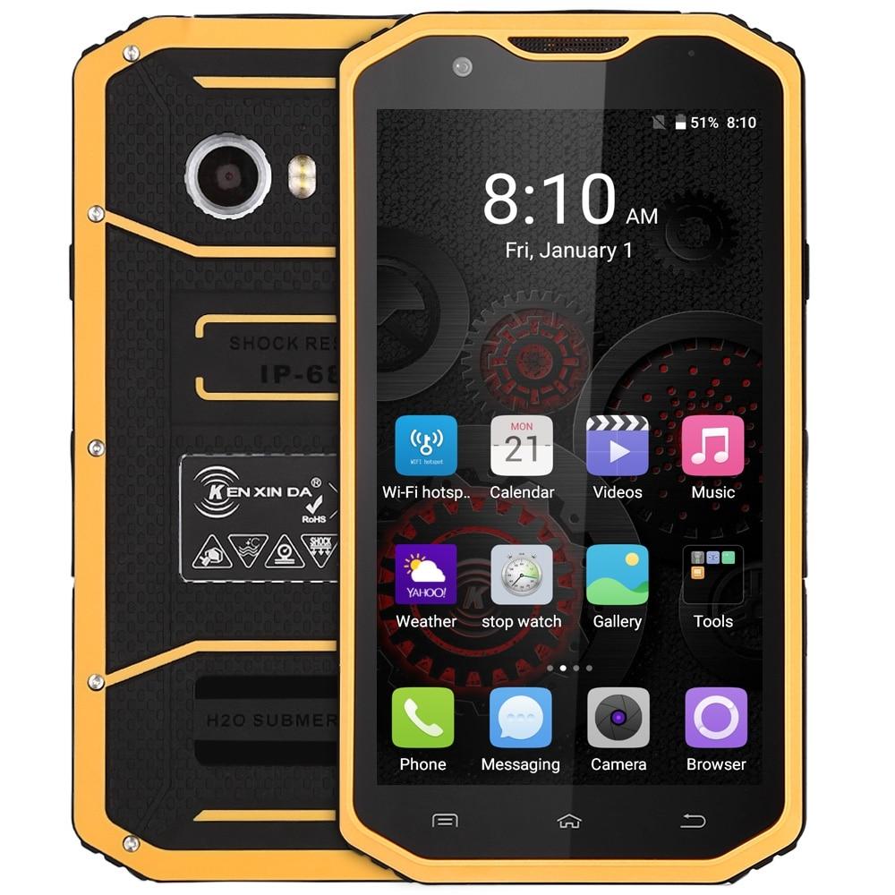 Original KenXinDa W8 5 5 Inch Mobile Phone Android 5 1 4G MTK6753 Octa Core 1