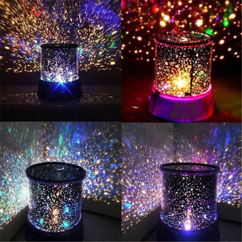 LED Starry Star Master Gift Night Light For Home Sky Star Master Light LED Projector Lamp Novelty Amazing Colorful Good Gift