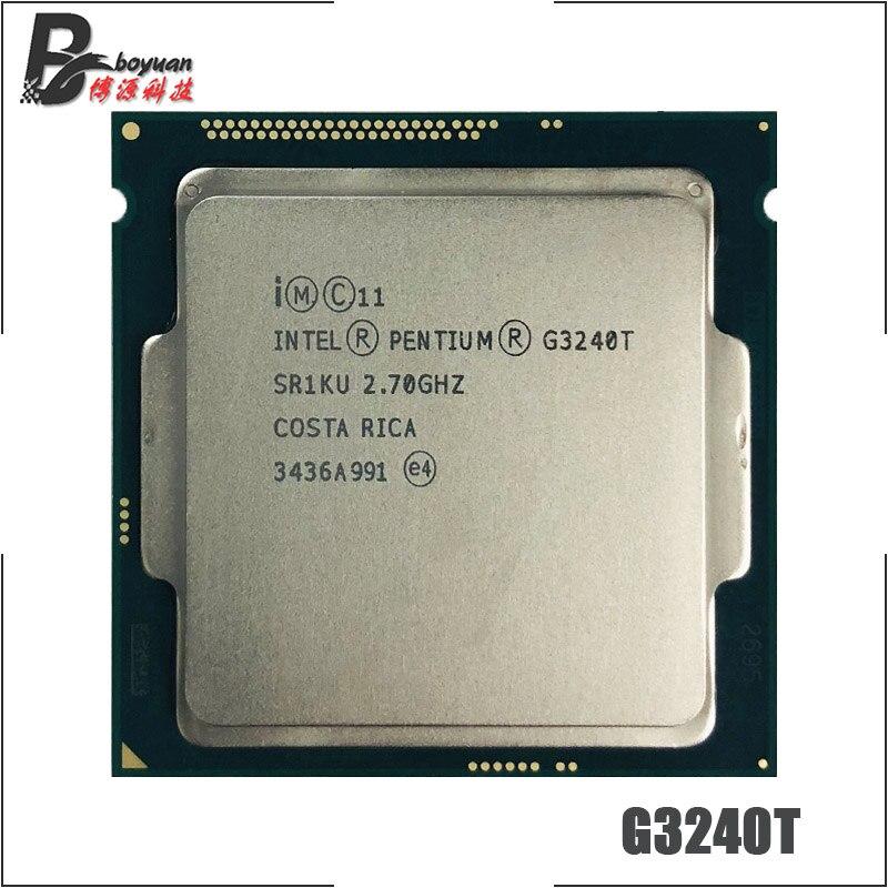Intel Pentium G3240T 2 7 GHz Dual Core CPU Processor 3M 35W LGA 1150