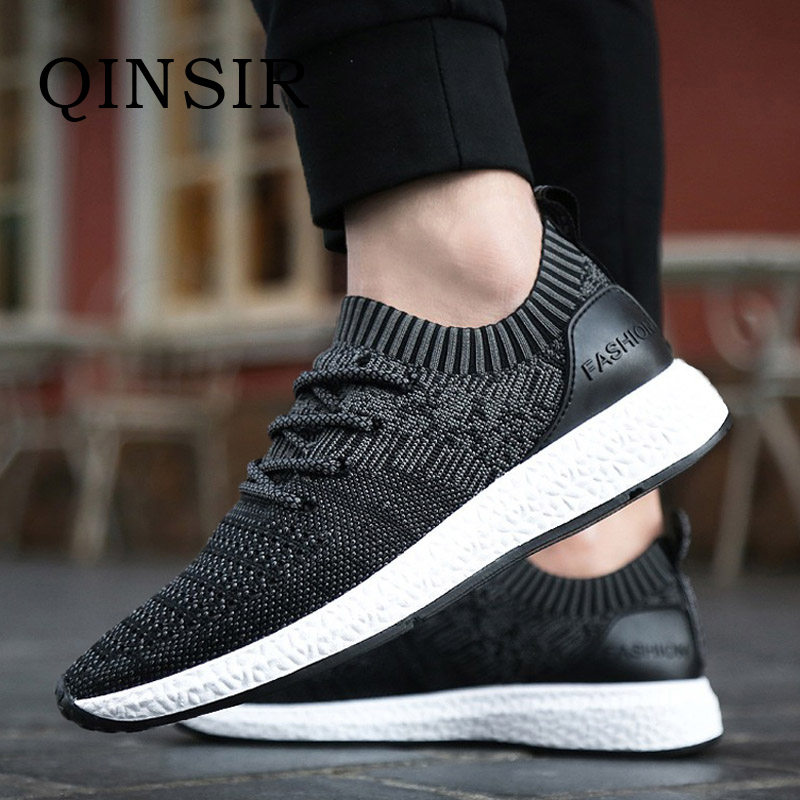 Mens Shoes Casual Shoes Summer Breathable Lace up Flats Fashion Light Male Footwear Mesh Masculino Zapatos Hombre Sapatos pinsen fashion women shoes summer breathable lace up casual shoes big size 35 42 light comfort light weight air mesh women flats