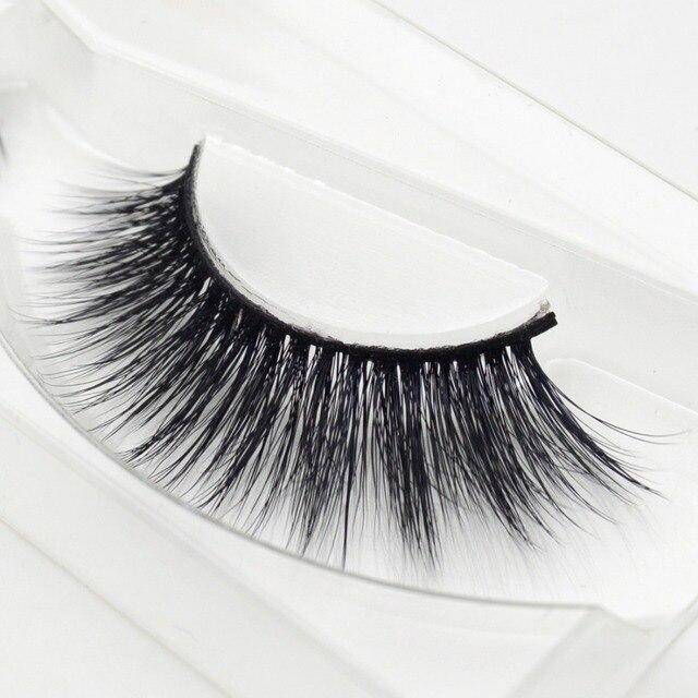 1 pair Bridget mink eyelashes 3D MINK False Eyelashes Hand Made Full Strip Lashes Fake Eye Lashes Professional Makeup Lashes 1