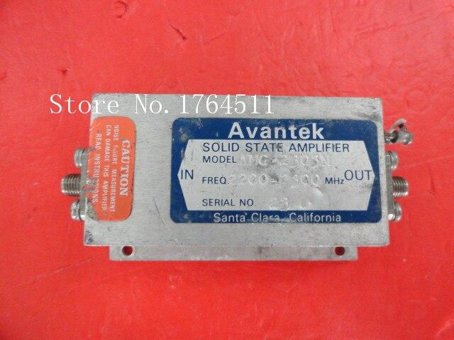 [BELLA] AVANTEK AMG-2303M 2.2-2.3GHz 15V SMA Amplifier Supply