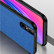 For Vivo S1 V11 V15 X27 Y83 Pro case X20 X21 X23 Y17 Y3 Y15 Y81 V9 IQOO pro 5G Neo Z1 NEW A Luxury Fabric Business cover