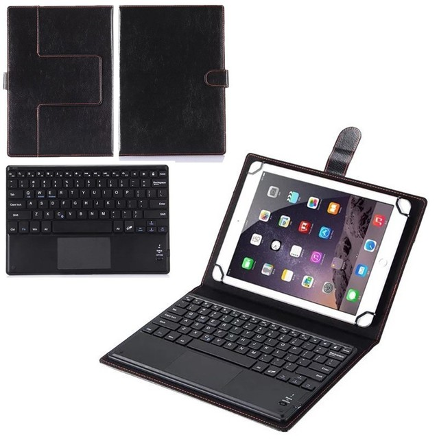 201689d3d01 Touchpad Keyboard Suitable For Asus MeMO Pad FHD 10 ME302C ME302KL LTE 10.1  inch Tablet Wireless Bluetooth Keyboard with PU Case