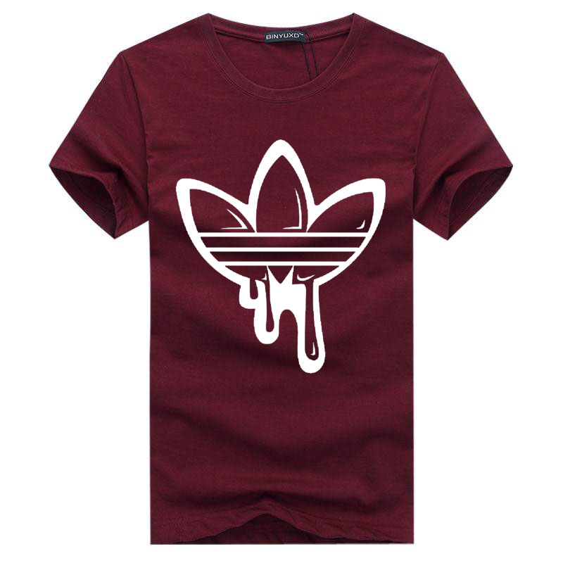 2018 New Summer Cotton Funny T Shirts Short sleeves T shirt Men Fashion Tide brand Print