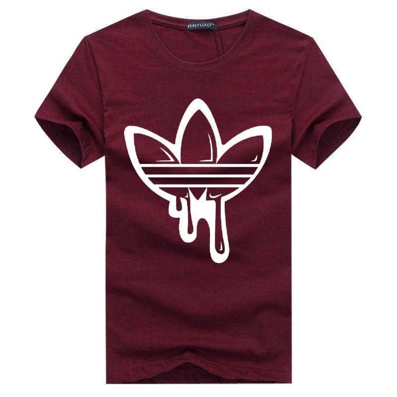 2018 新夏綿ユーモア Tシャツ半袖 Tシャツメンズファッション潮ブランドプリント赤 tシャツ男性トップス tシャツ男性の Tシャツ