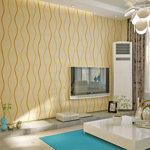 Online Shop Simple Modern 3D Stereoscopic Wall paper Bedroom Living ...