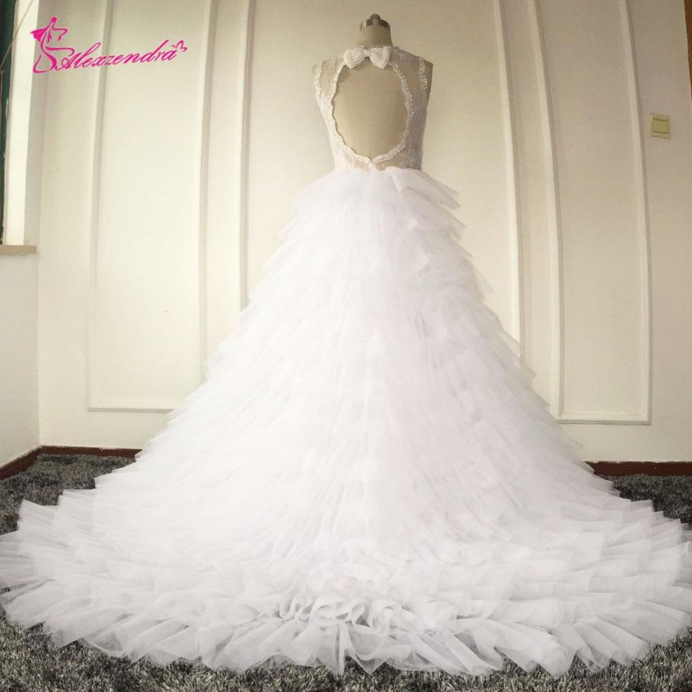Custom Made Mermaid Wedding Dresses with Detachable Train High Quality Backless Sexy Mermaid Wedding Dresses vestido de noiva