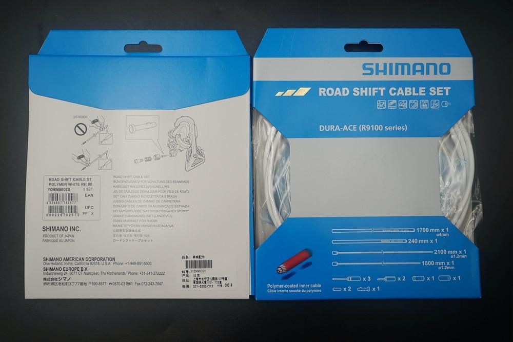 Shimano OT-SP41 MTB Road Bike 4mm Shifter Housing 1900mm 10 End Caps