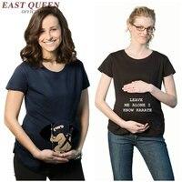 Mutterschaft t-shirt sommer umstandsmode lustige mutterschaft shirts frauen lustige schwangerschaft shirts für frauen NN0748 Y