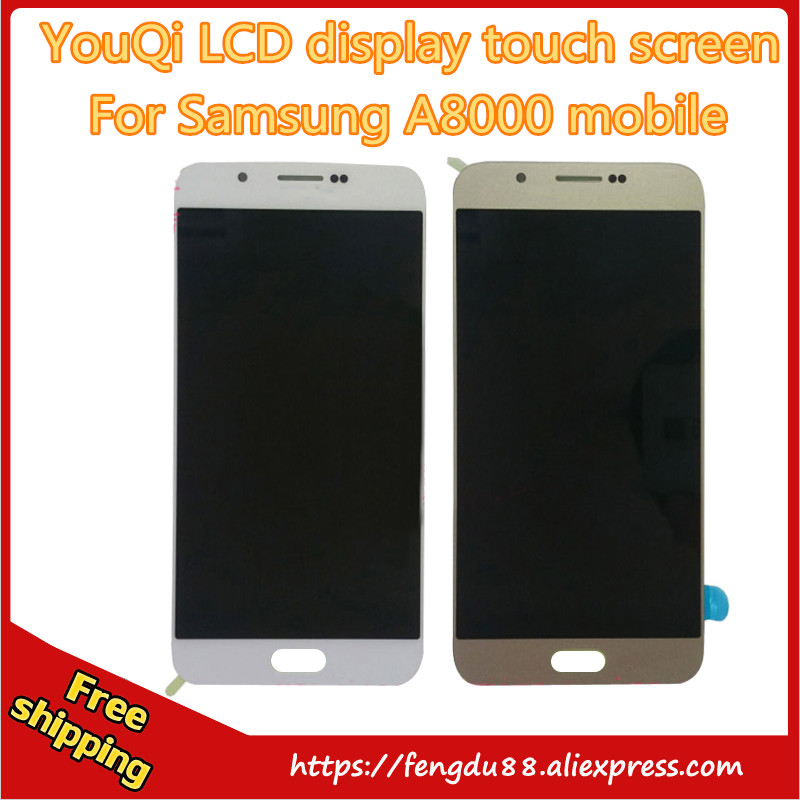 Подробнее о 100% No dead pixels New Original For Samsung A8 A800F A8000 A800L 2016 lcd display Digitizer Touch Screen Assembly free shipping 100% new lcd screen display for ipad mini without dead pixels by free shipping