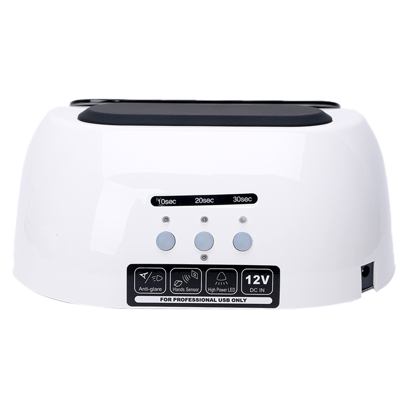 New Fashion Plastic+Metal 48W Nail Dryer Lamp LED UV Polish Gel Curing Manicure & Pedicure Nail Art Timer Electric 12V EU Plug fashion plastic metal 48w nail dryer lamp led uv polish gel curing manicure
