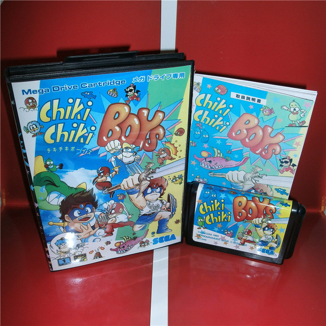 chiki chiki boys japan cover with box and manual for sega megadrive rh aliexpress com Game Manual PDF Life Manual of the Game