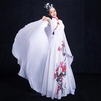 Classical Dance Costume Women's Elegant New Plum Stage China Wind Costume Adult Modern Dance Costume Guzheng