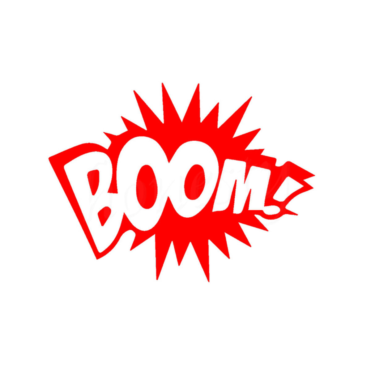 Boom Graphic Novel Animation Explosion Adventure Funny Car