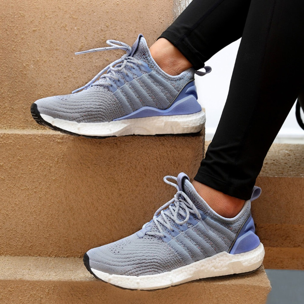 Women Xiaomi FREETIE sports shoes light reflective ventilate elastic Knitting shoes breathable refreshing city running