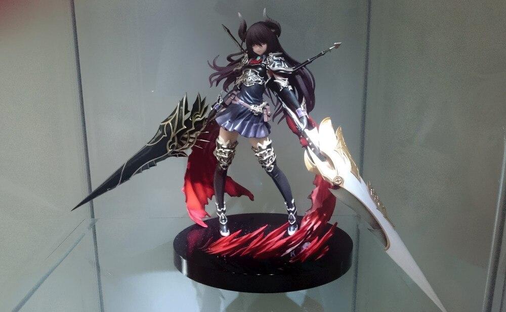 Figurine Huong Anime 24 CM Kotobukiya Rage de Bahamut Dragon foncé cavalier Forte la figurine d'action en PVC consacrée modèle de jouet à collectionner