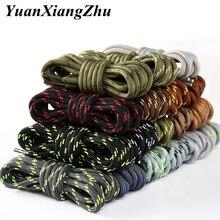 1Pair Outdoor Hiking Sports Shoe laces Round ShoeLaces Kids Adult Sneakers Shoelaces 100 120 140 160CM 19 Colors lacets baskets