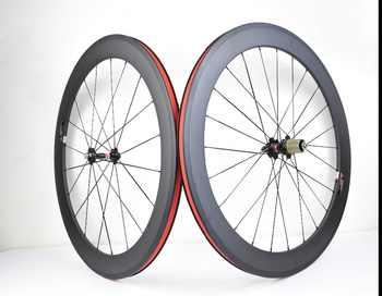 700C carbon wheels 38mm 50mm 60mm 88mm road bike wheels clincher or tubular carbon wheelset