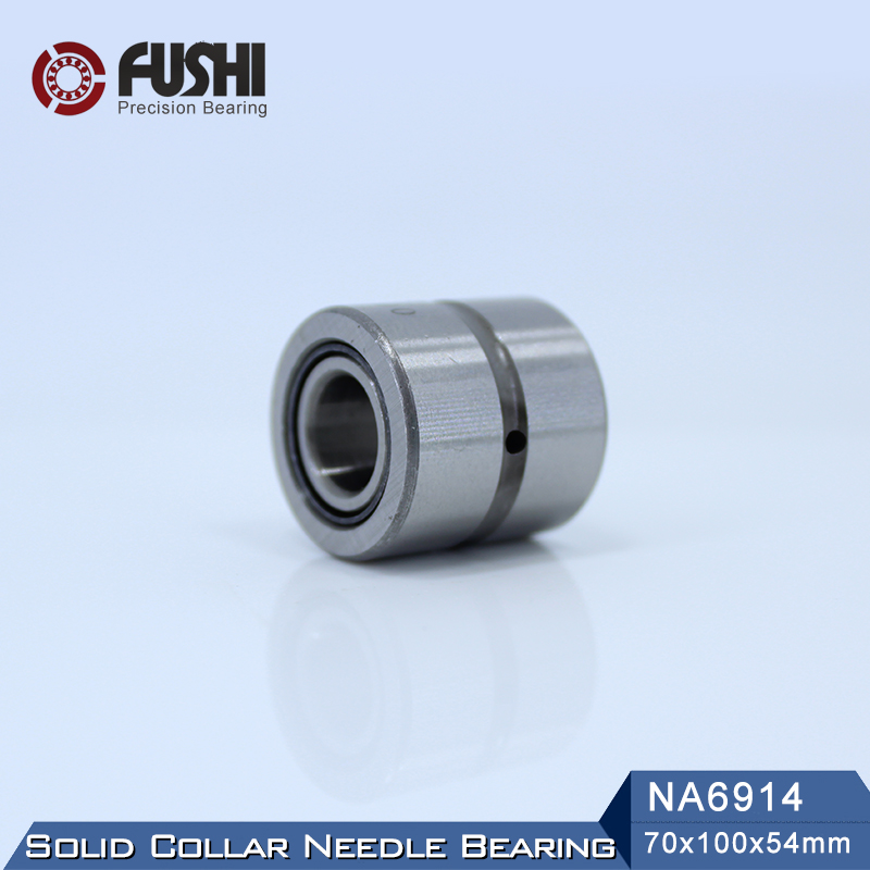 NA6914 Bearing 70*100*54 mm ( 1 PC ) Solid Collar Needle Roller Bearings With Inner Ring 6534914 6254914/A BearingNA6914 Bearing 70*100*54 mm ( 1 PC ) Solid Collar Needle Roller Bearings With Inner Ring 6534914 6254914/A Bearing