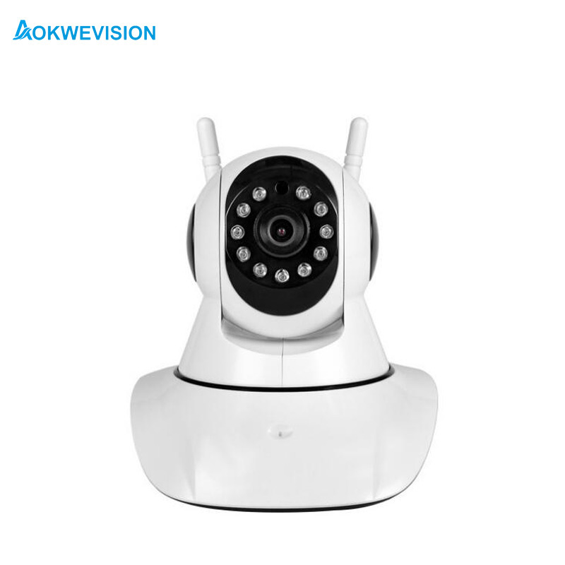 Doppia Antenna 720 P Pan/Tilt WiFi IP di IR di Sostegno ONVIF Max Fino a 648 GB Video Monitor ip cameraDoppia Antenna 720 P Pan/Tilt WiFi IP di IR di Sostegno ONVIF Max Fino a 648 GB Video Monitor ip camera