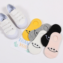 5 Pair/lot 2018 Cute Children Socks Smiley Toddler Socks Cotton Autumn Winter Breather Comfy Child Socks New Bebe Calcetines