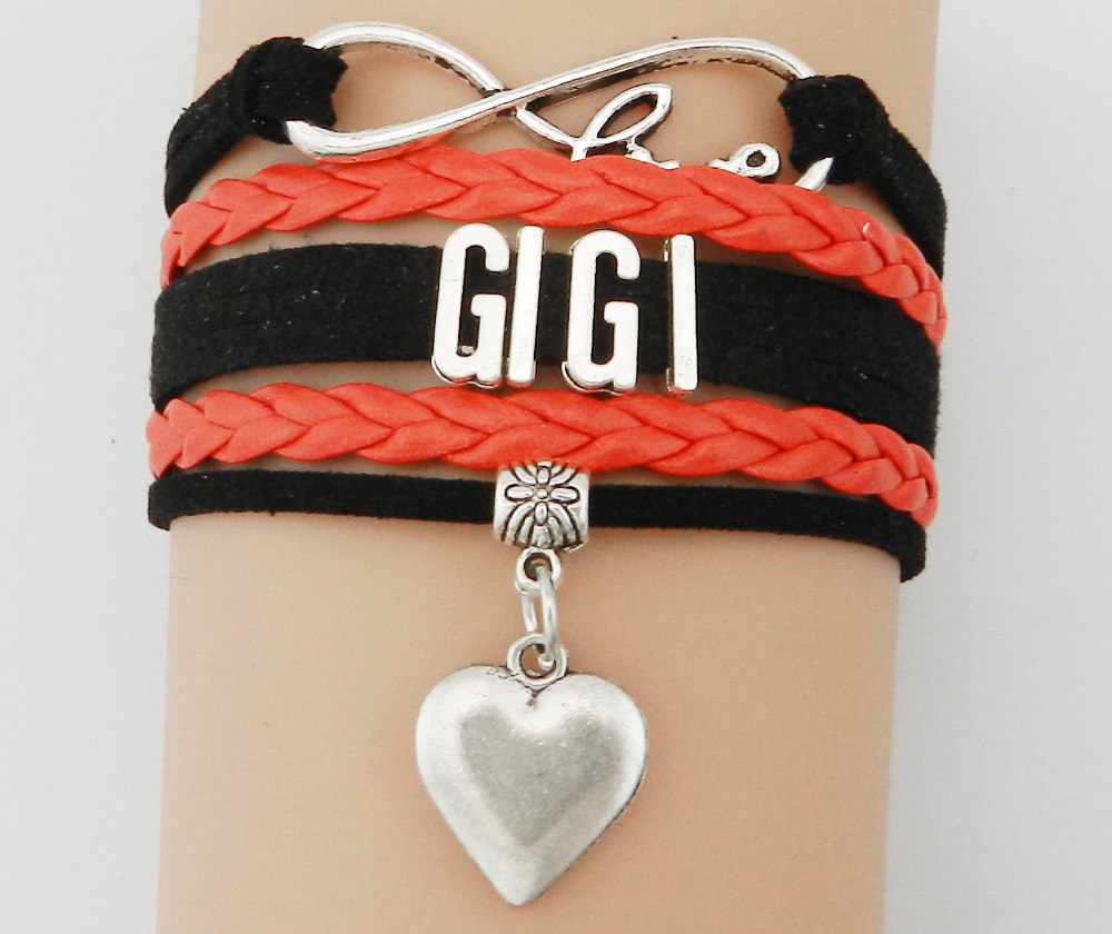 Hot Slae Infinity Love Gigi Bracelet Best Frendship Family Gift ...