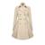 2016 Otoño Primavera Trench Coat Mujeres Abrigo Clásico Delgado Commuter Delgada capa Femenina Rompevientos Abrigo Con Cuello En V Manga Larga de Gran Tamaño Abrigos