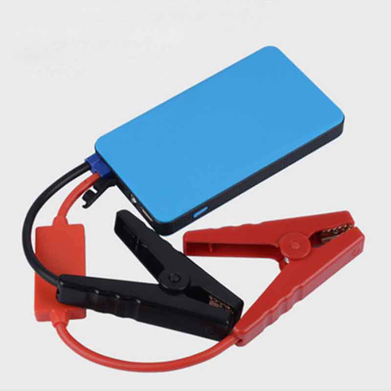 12V 8000mAh Multifunktionskapacitet Mini Bærbar Car Nød Strømforsyning til Car Jump Starter Power Bank Starter Laptop