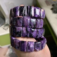 charoite stone beads bracelet natural stone bangle DIY jewelry bracelet for woman for gift free shipping wholesale !