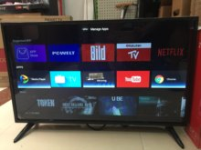 Tv de televisão smart wifi android 7.1.1 32 Polegada DVB-T2 led