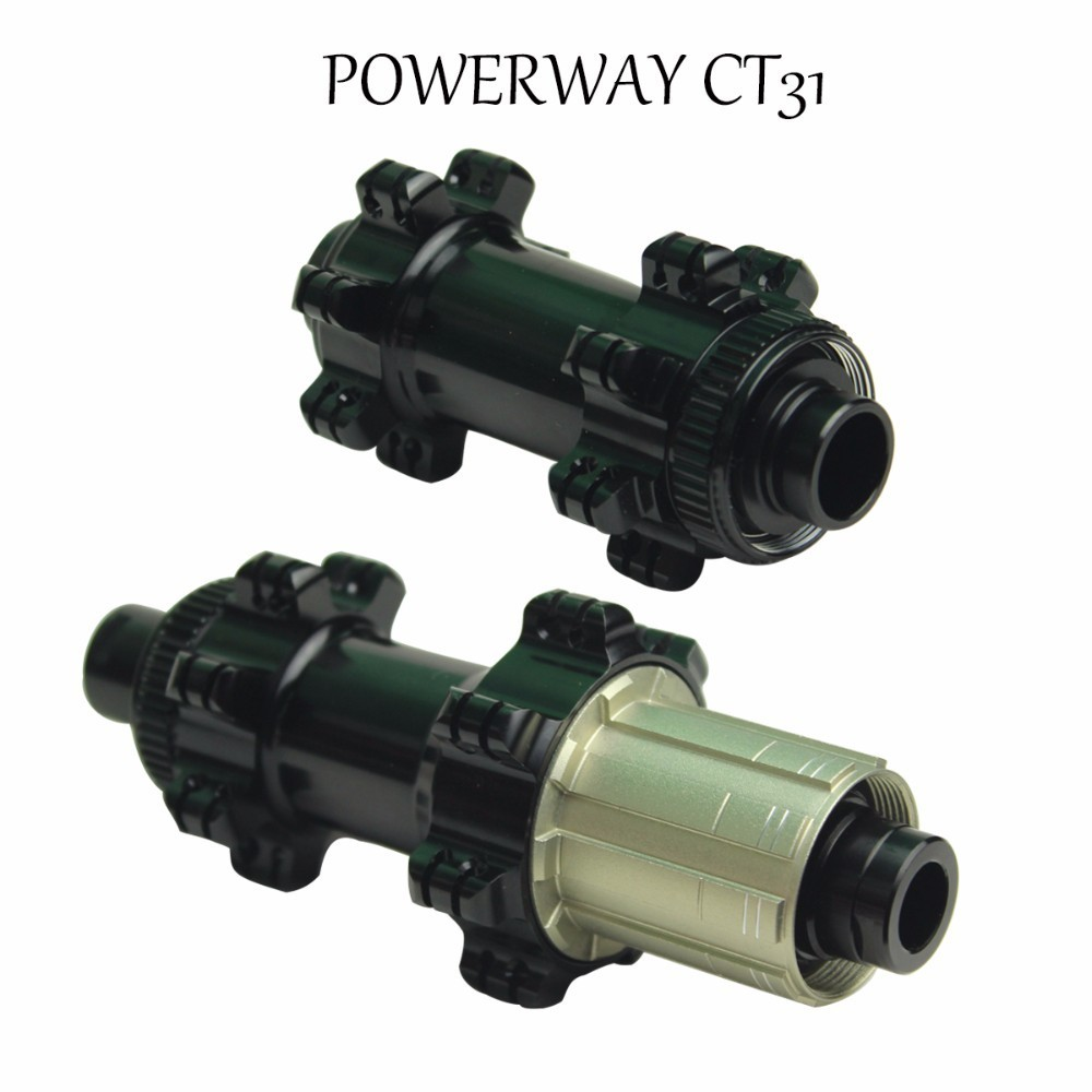 Powerway CT31 Center Lock Hub Light Weight Straight Pull Mountain Bike Hub For MTB Cycling Bicycle Quick Release or Boost