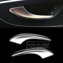 Ди ABS автомобилей Интимные аксессуары для Mercedes-Benz Vito 2016 интерьер потянуть ручку двери Панель отделкой в полоску хром пластины Наклейки чехлы для мангала