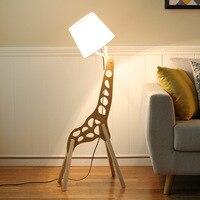 TUDA 2017 Modern Minimalist Living Creative Lighting Solid Wood Bedroom Lamp