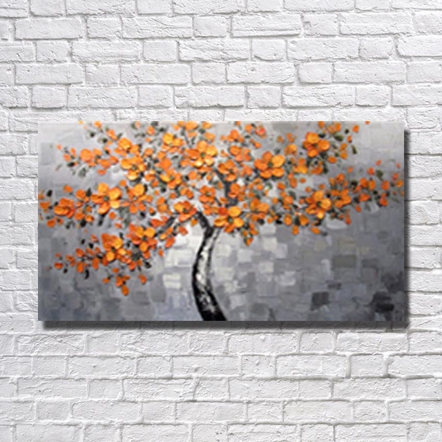 Dropshipping art oil painting of canvas fabric design home wall ...
