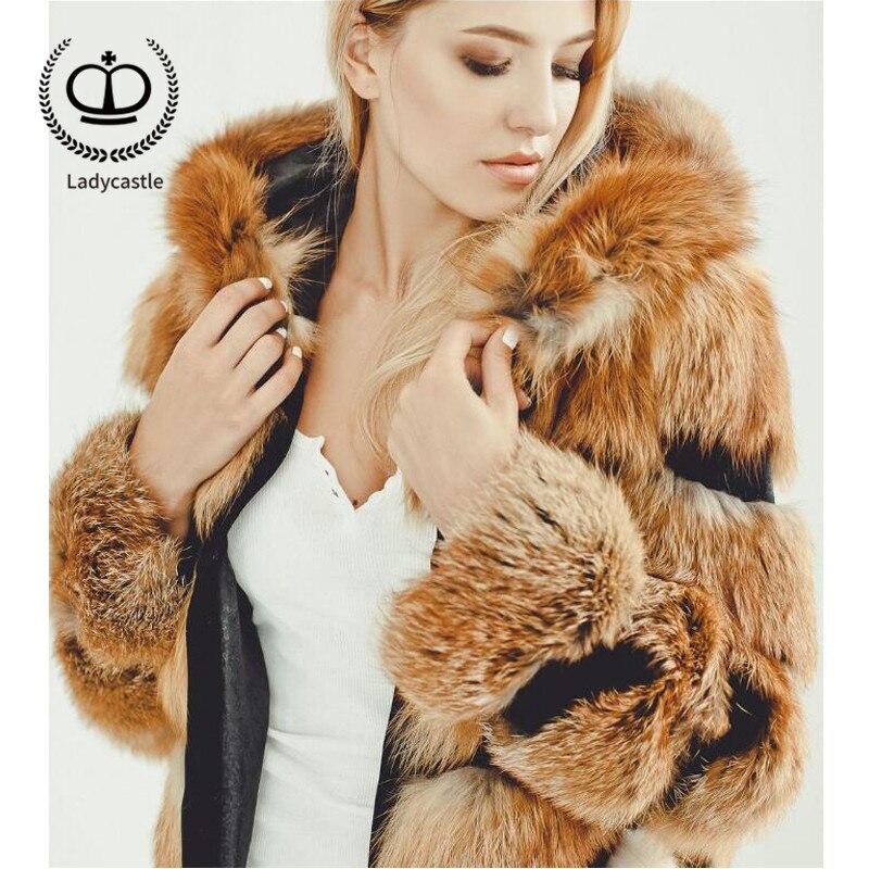 As De Capot Naturel Femmes Picture 2018 Avec Longue Luxe D'hiver Pour Fc Nouvelle Renard Fourrure Véritable 172 Femme Manteau Veste Mode Vison Rw5nxZqp5I