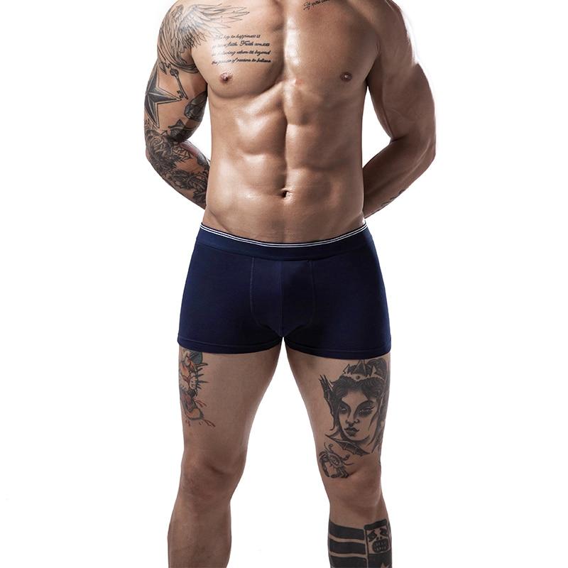Cotton Mens Underwear Boxers Classical Shorts Boxer Underwear For Men Male Cuaces Calzoncillos