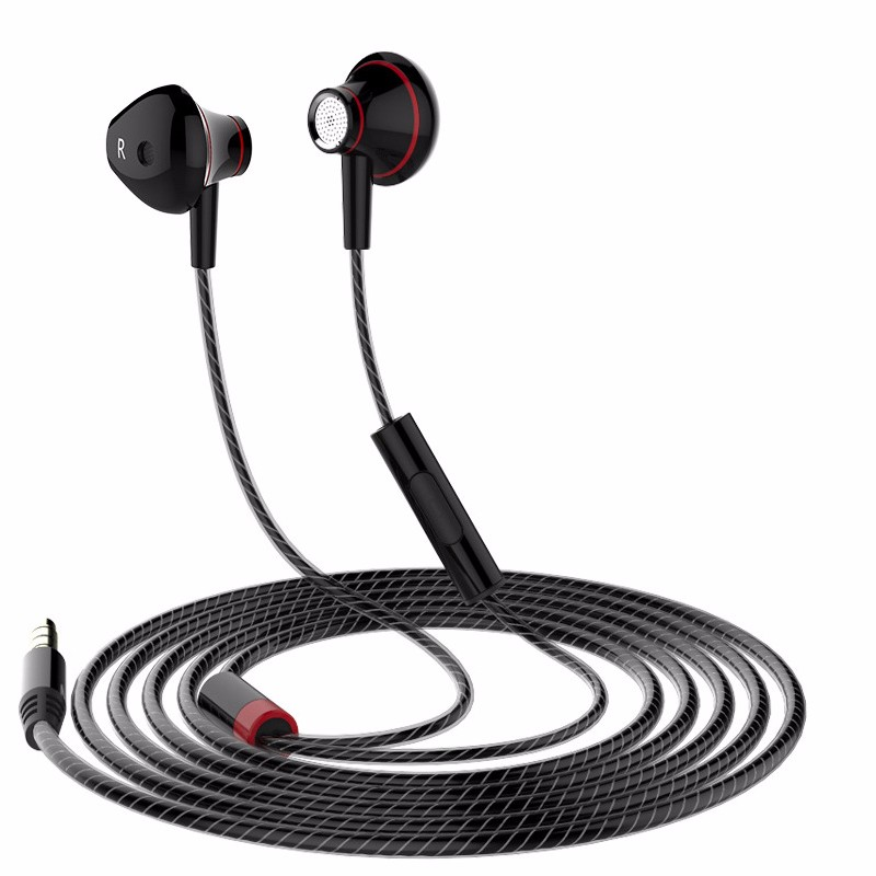 3.5mm Aux Wired Earphone Earpiece In Ear Earbuds Universal Headset For Mobile Phones Computers MP3 MP4 CD Player earphone syllable g02s in ear earphone for smart phone computer mp3 mp4 sport wired headset 3 5mm jack line in headset without microphone