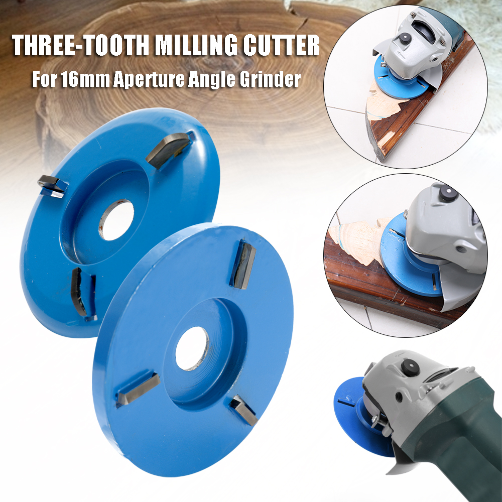 Power Wood Carving Cutter Disc Milling Attachment for Angle Grinder Tools Parts