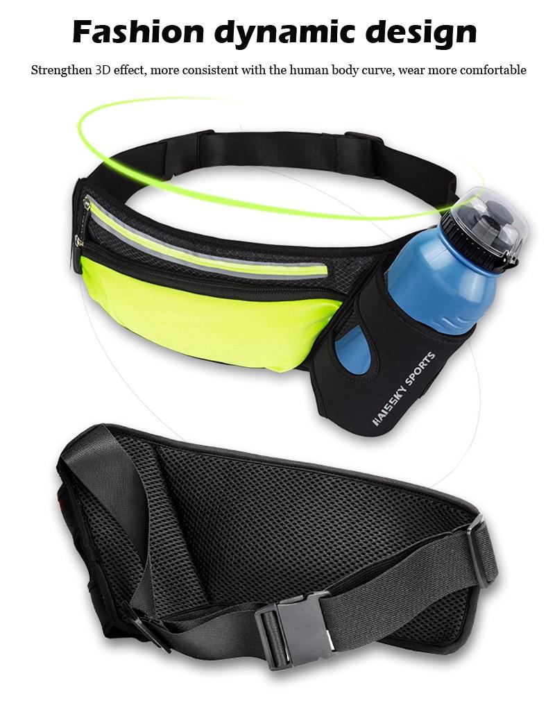 Humor Outdoor Waterproof Sweatproof Men Women Waist Belt Bag Breathable Multifunctional Unisex Gym Sport Running Cycling Waist Pack Relojes Y Joyas