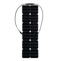 40W ETFE flexible solar panels cell modules for car yacht RV 12V charger with junction box pv connector Solpanel