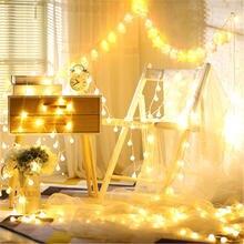 Светодиодная гирлянда на рождественскую елку 10 м 100 светодиодный