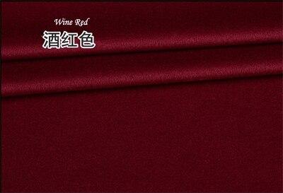 2019 Europe haut de gamme marque manteau laine soie tissu bricolage laine mérinos cachemire tissus lisse brillant Anti statique élastique or tissus - 6