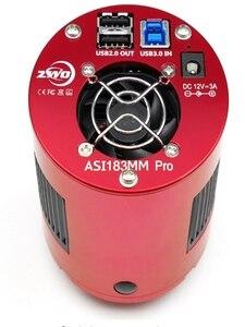 Image 2 - ZWO ASI183MM Pro soğutulmuş Mono kamera ASI derin silindirli yüksek hızlı mıknatıslar USB3.0