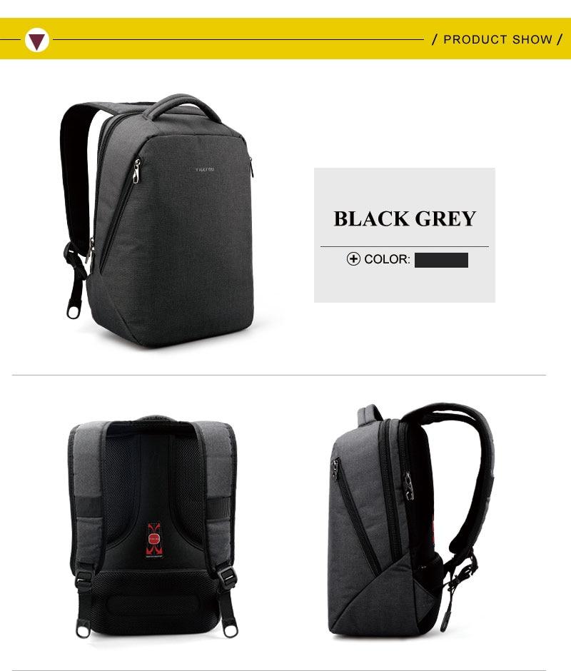 2017 Tigernu Brand Cool Urban Backpack Men Minimalist Fashion Women ... aa203deab70ab