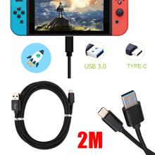 amzdeal New For Nintendo Switch Video Game Console Handheld Gaming Controller Charger Charging USB 3 0