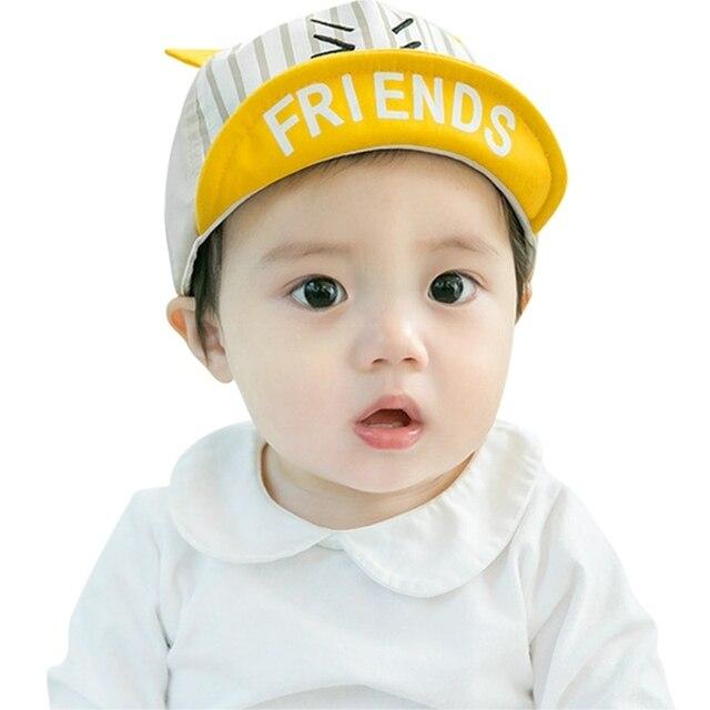 03f697673 Fashion Toddler Kids Infant Cotton Blend Cute Cap Summer Baby Girls ...