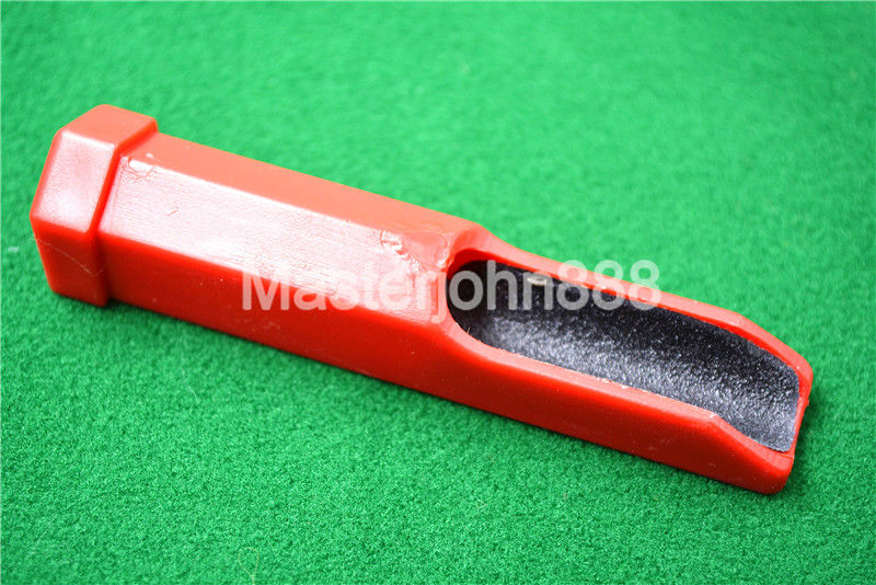 Red Pool Billiards Snooker Cue Tip Rounder Double-Side Stick Shaper File Grinding Pole Repair Tool Free Shipping Wholesales