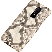 Python Genuine Leather phone Case For Oneplus 7 6T 6 5 5T 3 3T Luxury Marvel Snakeskins Back Cover For One plus 7 Pro Armor