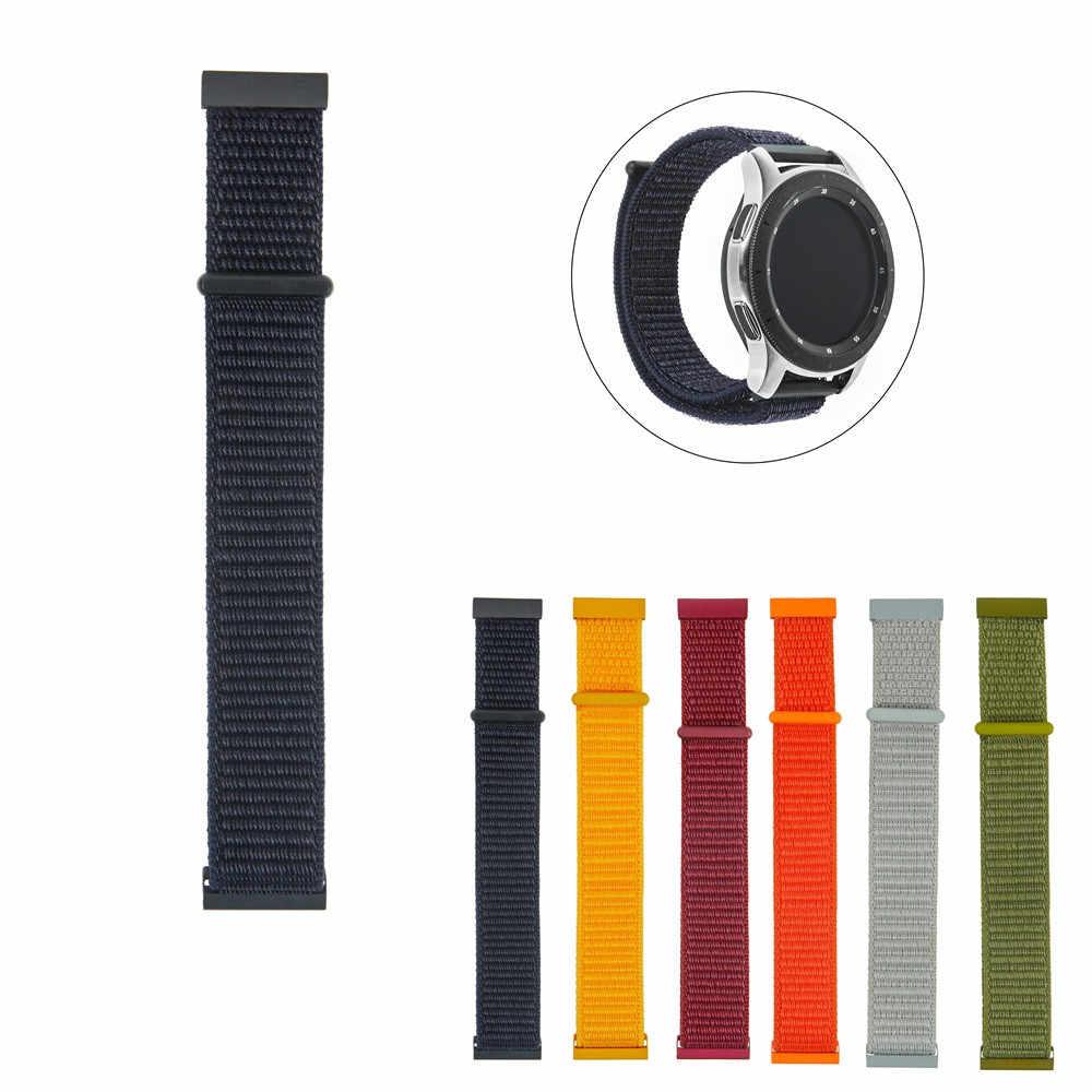 معصمه حزام لسامسونج النايلون نسج الفرقة شريط للرسغ 22 مللي متر لسامسونج غالاكسي ساعة 46 مللي متر/جير S3/Gear2 بالجملة المورد